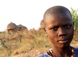 Nyang'atom of South Sudan